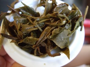 Dry tea pearls looked fine; these leaves tell a different story.