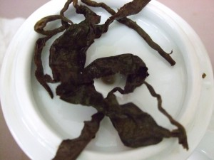 The leaves after two infusions